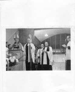 Opening of St Dyfrig's 1958?