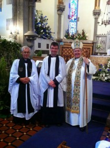 Festival Serivce Rev. Canon Dr. Peter Wykes, Bishop Gregory, Rev. Colin Mansley