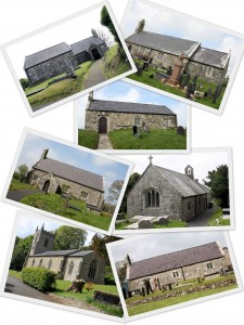 THE 7 CHURCHES OF BRO CYNGAR