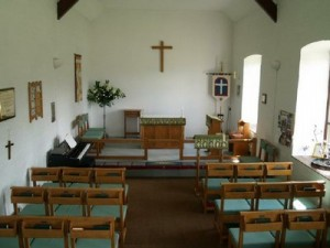 New Sanctuary Furniture and Congregation Chairs made by local Craftsman Mr John Lee 1992