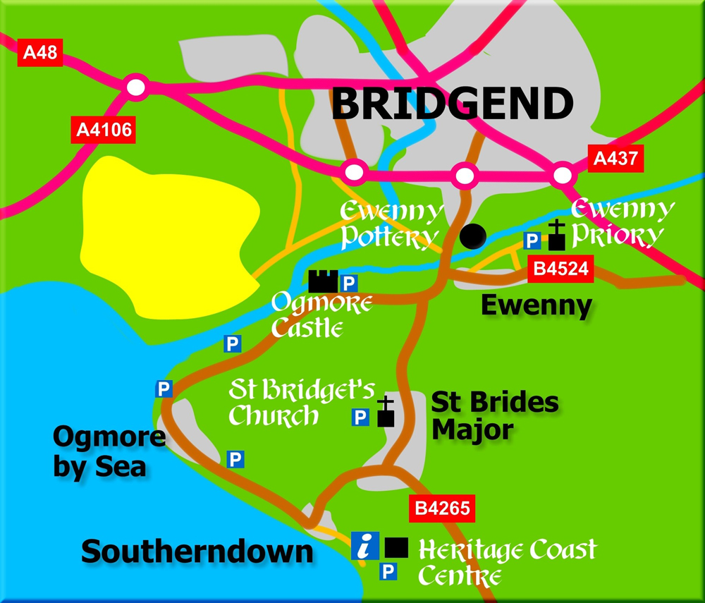 Website Site Map: The Parish Of Ewenny And St Brides Major