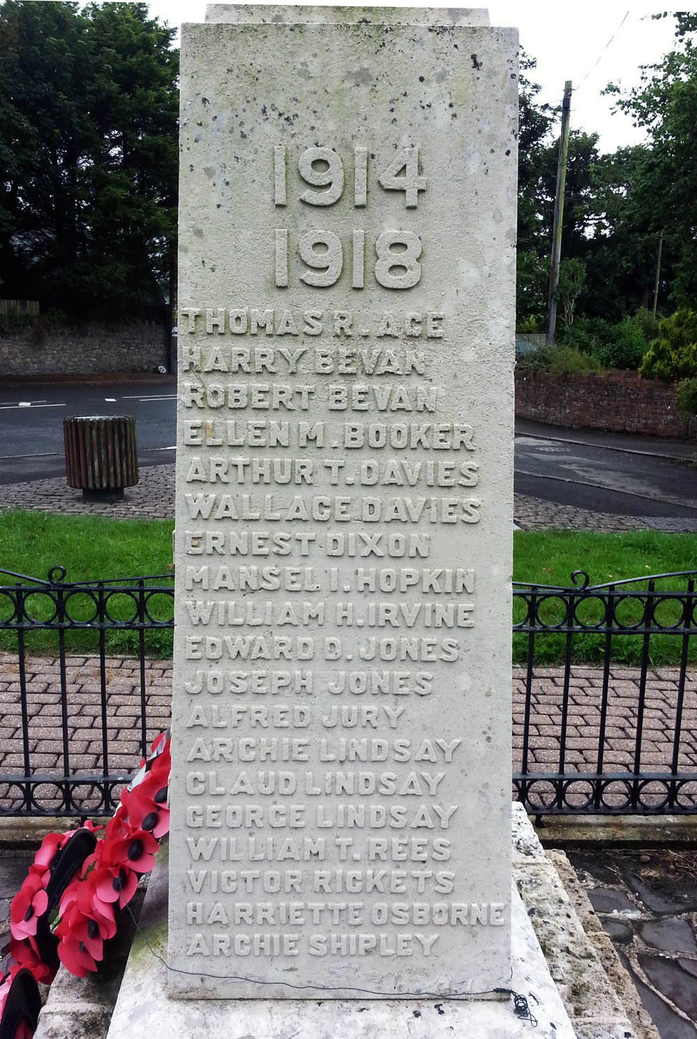 Outbreak of First World War Commemoration - The Parish of ...